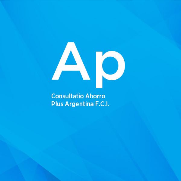 Consultatio Ahorro Plus FCI